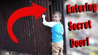 🚪ENTERING A SECRET DOOR! 😏