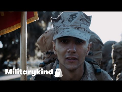 Father and son become Marine brothers | Militarykind