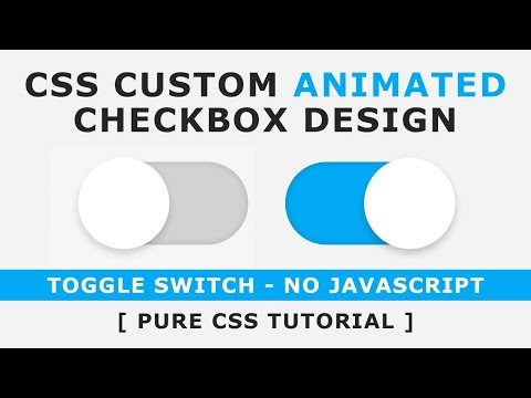 How To Make Stylish Checkboxes And Radio Buttons With CSS3