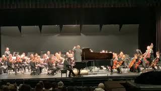 Concerto Concerto 1 Kevin Xu. (17 yrs)