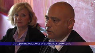 Yvelines | François Morton lance sa campagne à Guyancourt