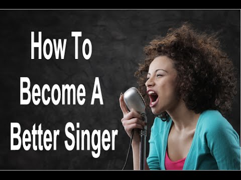 how to become a better singer how to sing properly youtube. Black Bedroom Furniture Sets. Home Design Ideas