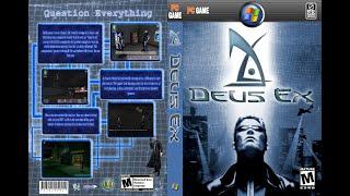 Deus Ex des ks дословно лат бог из  компьютерная игра шутер от первого лицаролевая игра в стиле