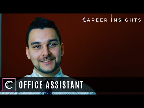Office Assistant - Career Insights (Careers In Business & Law)