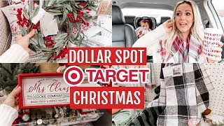 SHOP WITH ME TARGET DOLLAR SPOT CHRISTMAS 2019 |Tres Chic Mama