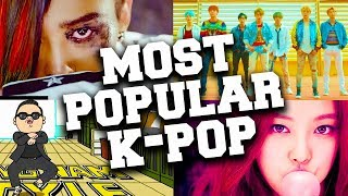 Top 50 Most Popular K-Pop Songs of All Time
