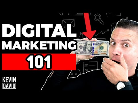 Kevin David - Digital Marketing for Beginners | 5 Strategies That Make Money! thumbnail