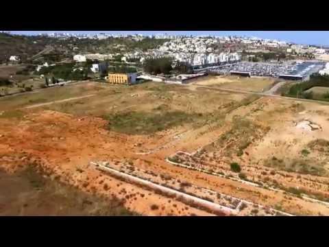 Albufeira marina Portugal by DJI drone