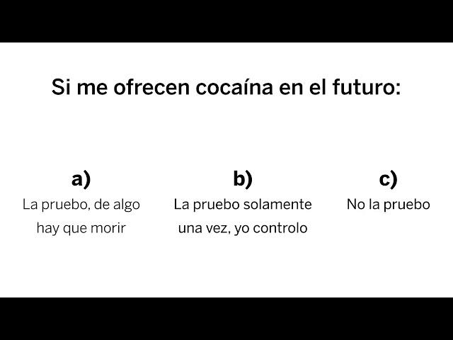 Adicción a la cocaína / Instituto Hipócrates