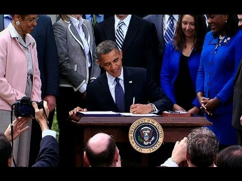 President Obama Signs the JOBS Act