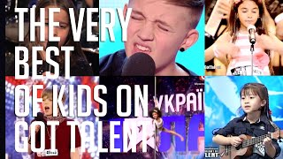 The very best of kids on Got Talent from around the world