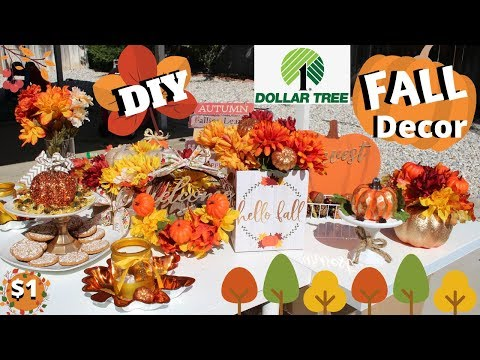 DOLLAR TREE FALL Decor | DIY