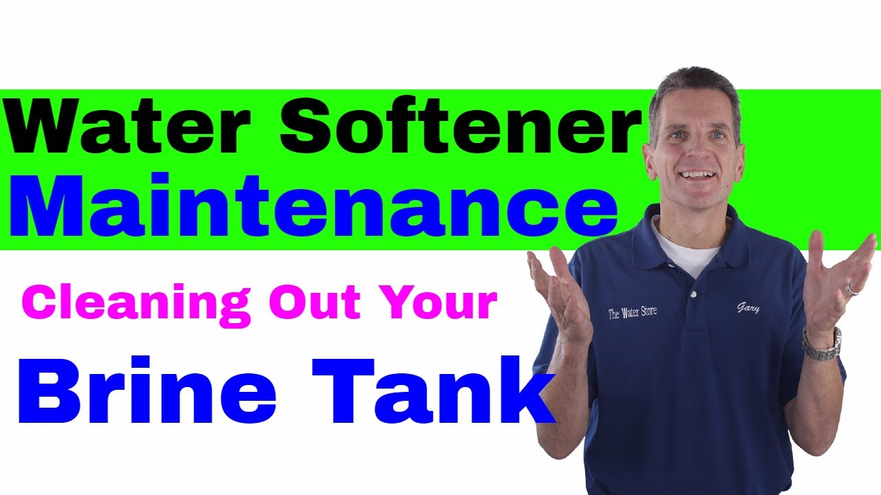 water softener cleaning service