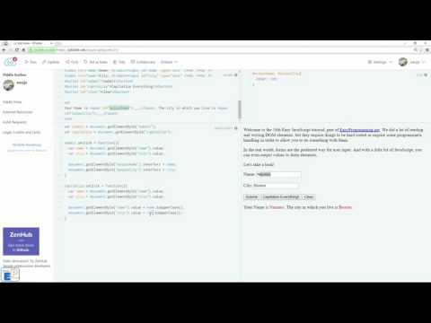 Easy JavaScript - How to Read & Write HTML Form Data (18)