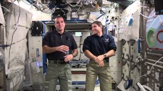 Space Station Crew Discusses Life in Space with Virginia Students