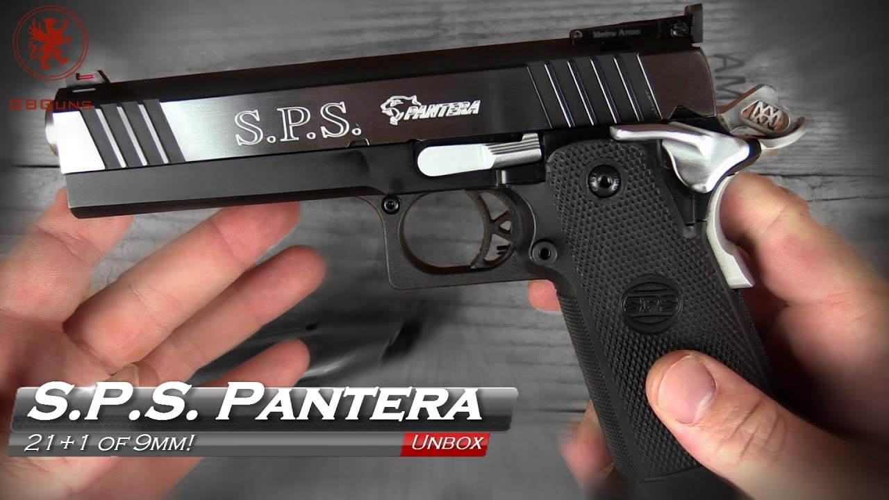 Pantera For Sale >> Unboxing the Incredible S.P.S. Pantera 9mm 1911 - YouTube