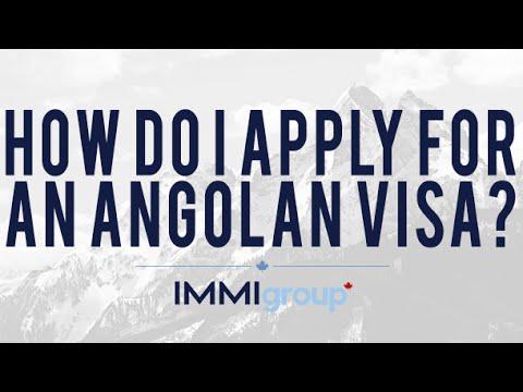 How Do I Apply For An Angolan Visa?