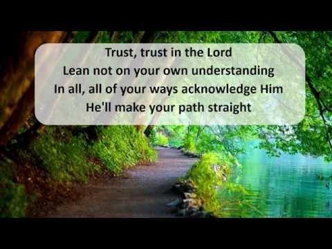 Trust In The Lord - Lyrics Hillsong