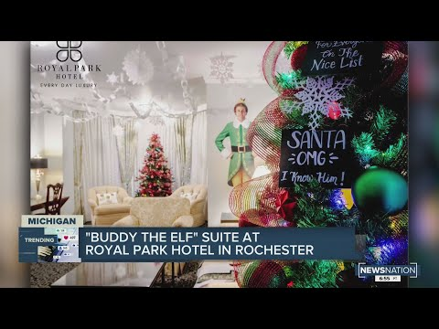 Buddy-the-Elf-suite-at-Royal-Park-Hotel-in-Rochester