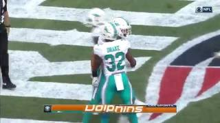 Jarvis Landry's One-Handed Catch Sets Up Cameron's Red Zone TD! | Dolphins vs. Patriots | NFL