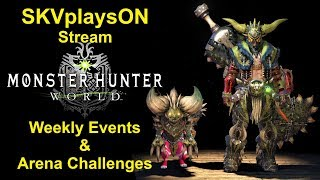 SKVplaysON - Stream - Monster Hunter World - Tempered Jho Is Not Out Yet! - PC, [ENGLISH] Gameplay