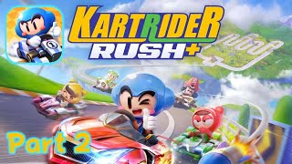 Real-time Kart Racing: KartRider Rush+ Story Mode Gameplay Part 2