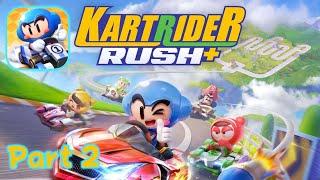 Real-time Kart Racing: KartRider Rush+ Story Mode Gameplay Part 2