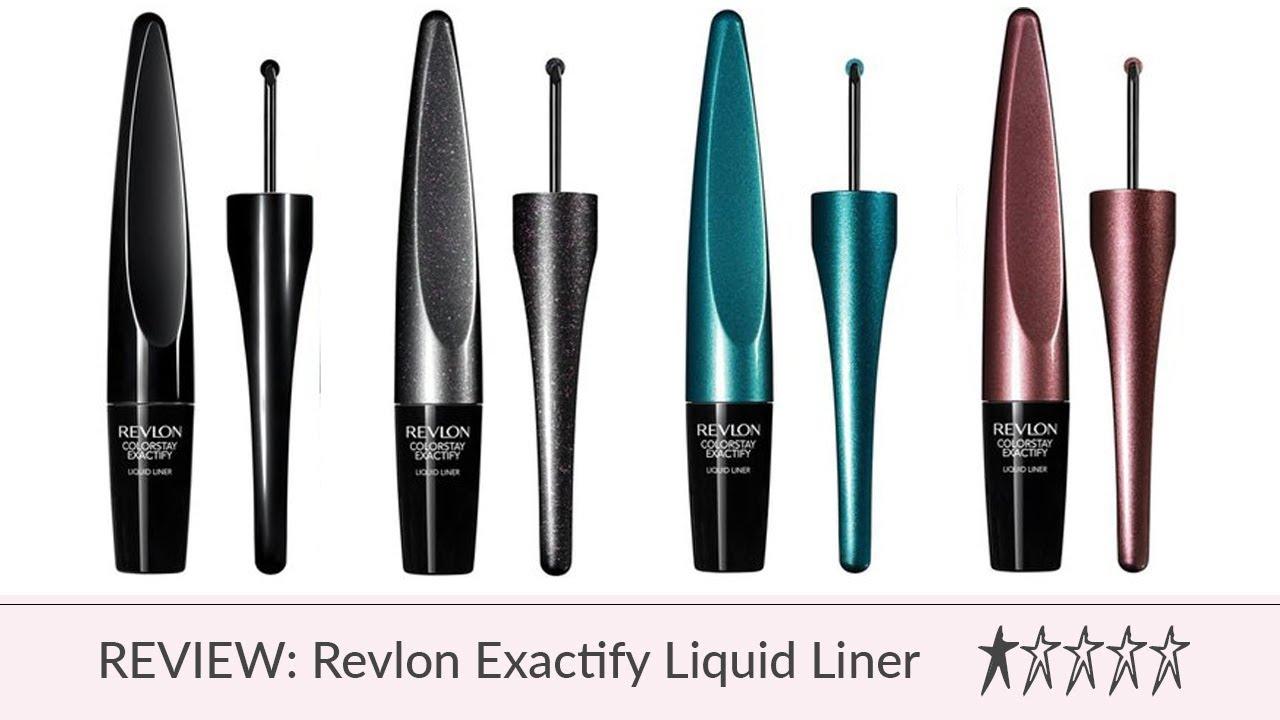 Product Review: Revlon Exactify Liquid Liner