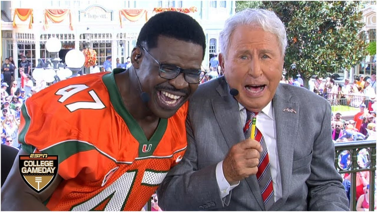 College Gameday Schedule 2020.Michael Irvin Picks Miami To Win Acc Predicts Conference Champions College Gameday
