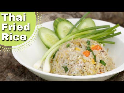 Thai Food Fried Rice recipe ❤️️