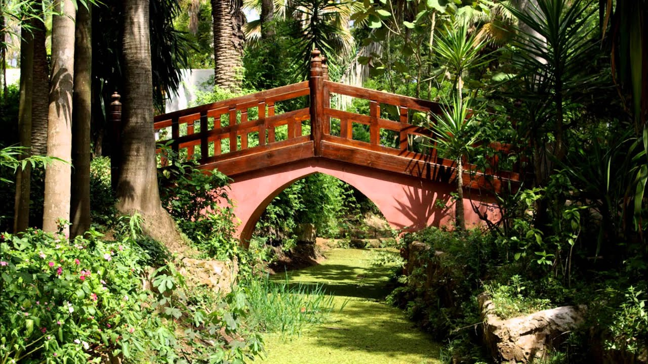 Jardin exotique de bouknadel rabat sal maroc youtube for Jardin exotique