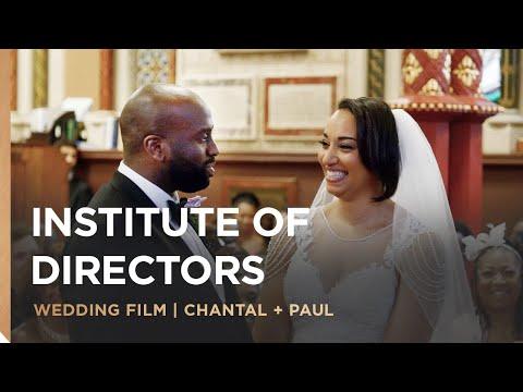 Institute of Directors | Chantal & Paul's Wedding Film | London Wedding Videographer
