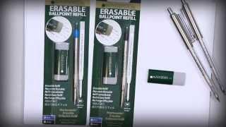Monteverde Erasable Ballpoint refill - Parker Style