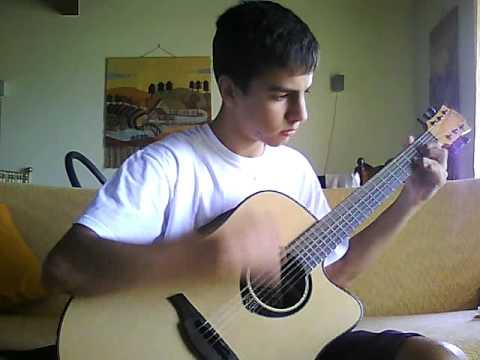 gli anni cover chitarra acustica youtube