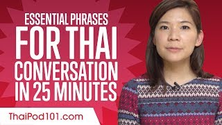 Essential Phrases You Need for Great Conversation in Thai