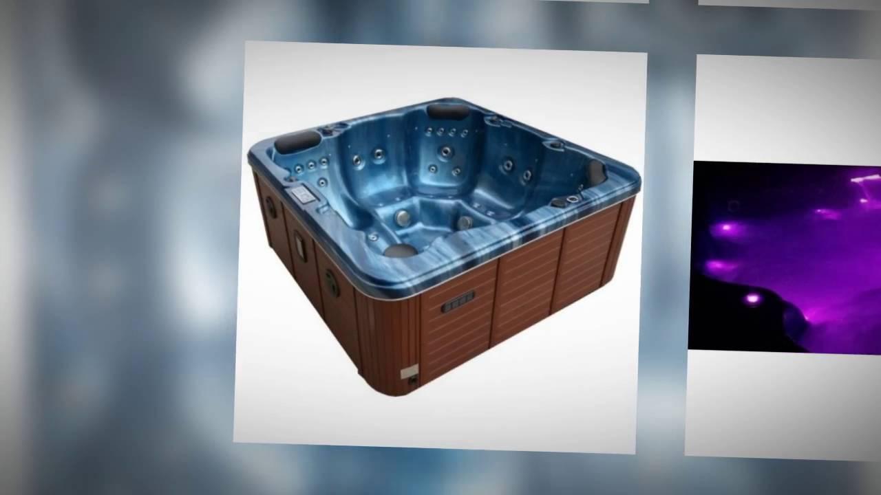 Arden Spas - Tahiti Hot Tub - YouTube