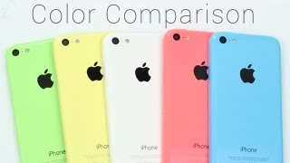 iPhone 5c Color Comparison [Green, Yellow, White, Pink, or Blue?]