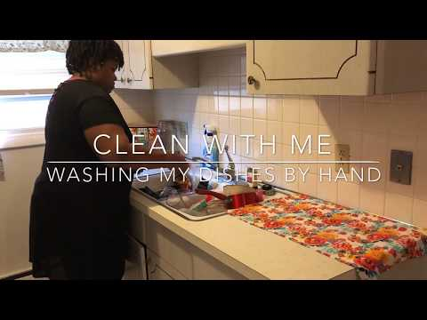 Clean With Me| Washing Dishes By Hand| Real Messy Kitchen | Cleaning Motivation |. SAHM