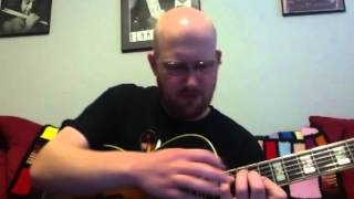 Guitar Lesson -- In Your Own Sweet Way (Wes Montgomery)