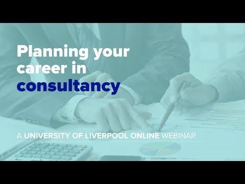 Webinar: Planning your career in consultancy
