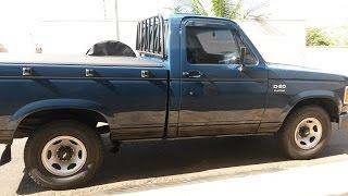 Restauração Chevrolet D 20 1991