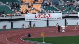 福島千里 200m 22.89(-0.2) 日本新 2010静岡国際陸上