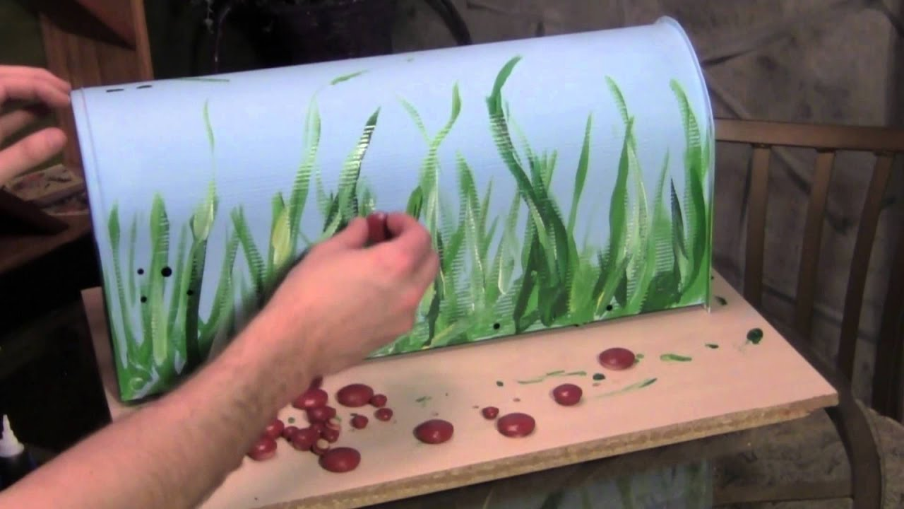 How to Paint a Mailbox pictures