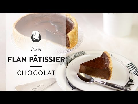 la-recette-facile-et-rapide-du-flan-pâtissier-au-chocolat-de-chef-philippe-!
