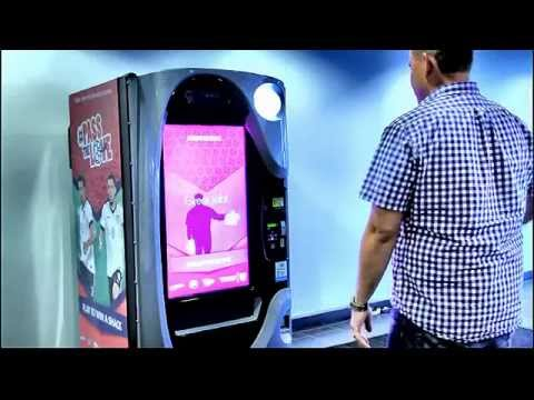 Diji-Touch Interactive Vending - Gesture Based Gaming Demonstration (United States)