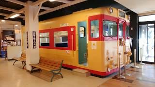 旧国鉄車両のキハ58系 上信越自動車道上り線(藤岡方面)横川SA 2020.1.1