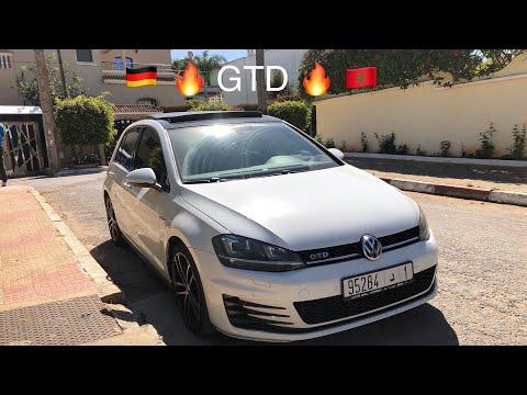 Golf 7 GTD 184Hp Importé Neuf