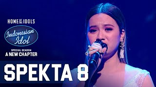 ANGGI - DON'T WATCH ME CRY (Jorja Smith) - SPEKTA SHOW TOP 6 - Indonesian Idol 2021
