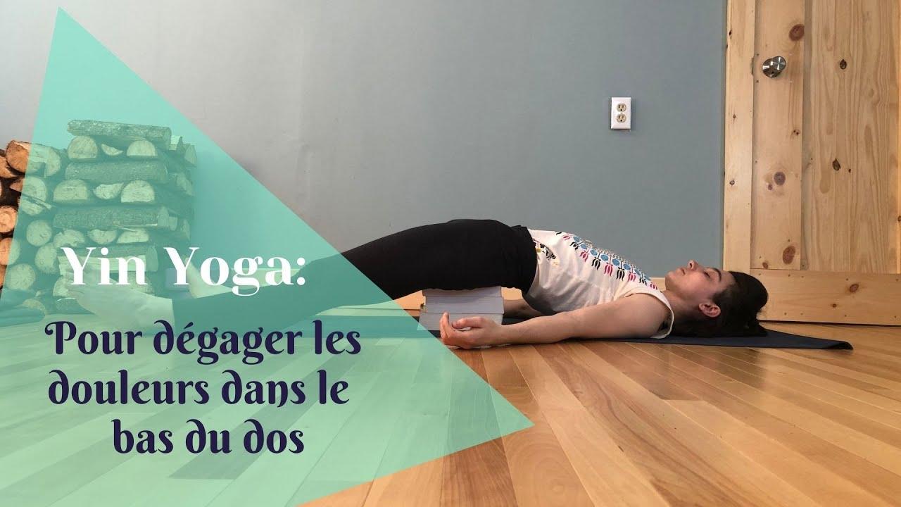 Yin yoga, pour dégager les douleurs dans le bas du dos