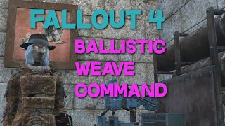 fallout 4 how to get ballistic armor mod after killing the railroad pc only